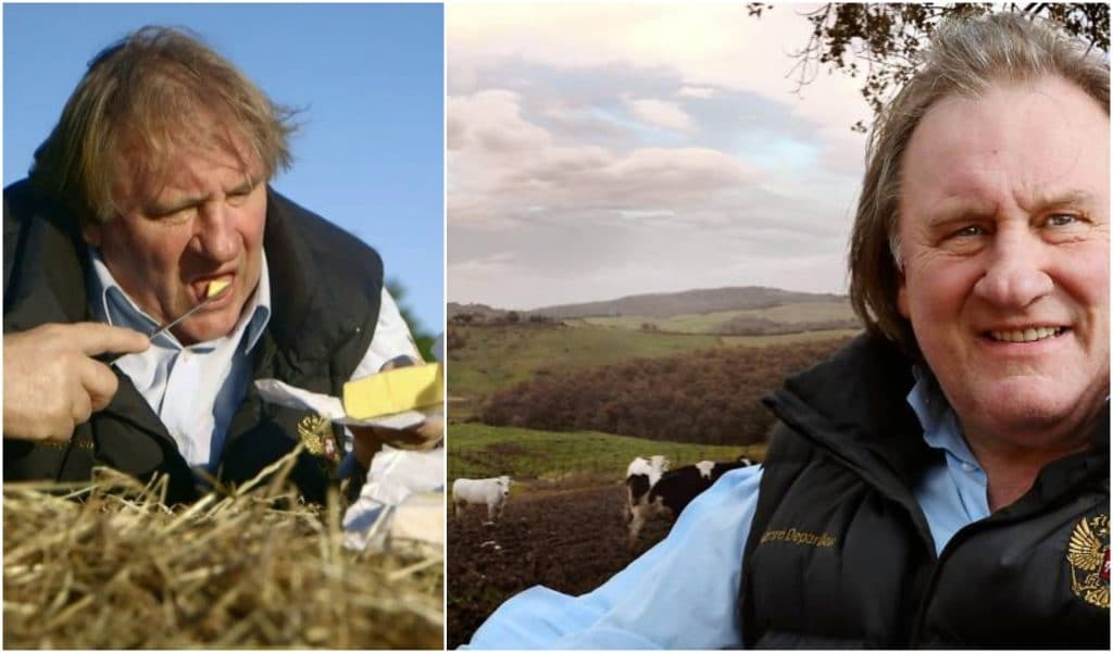 «À pleines dents!» Le tour d'Europe culinaire de Gérard Depardieu à voir et revoir en ligne !