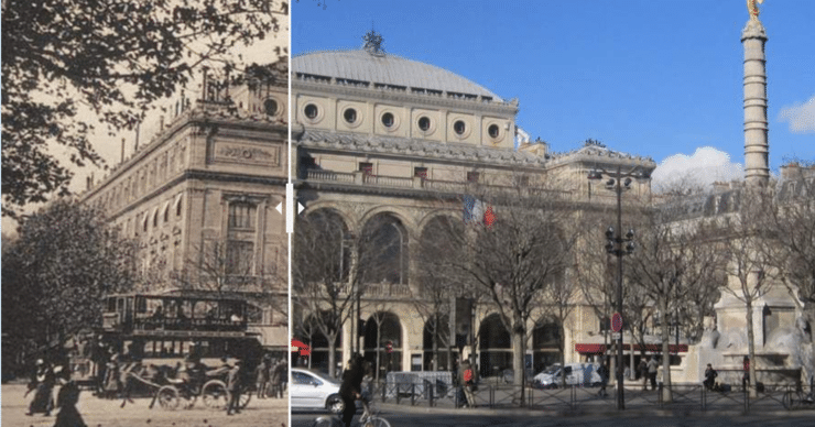 Paris avant et après : Des photos incroyables d'hier et d'aujourd'hui !