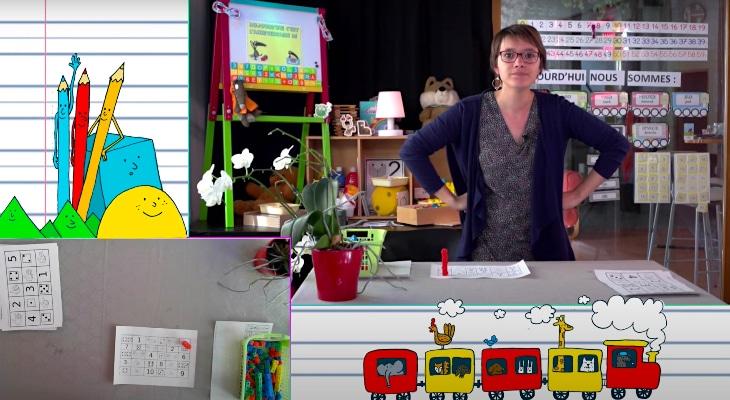 Confinement : Marie-Solène, la maîtresse d'école star de Youtube !