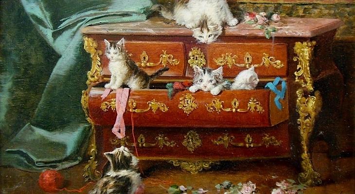 Une exposition virtuelle gratuite sur les chats dans l'art !