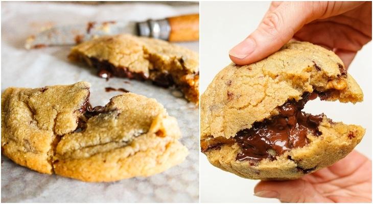 LA recette orgasmique des cookies au coeur coulant chocolat !