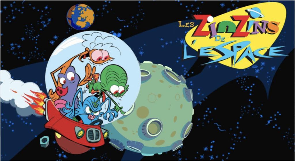 L'intégrale des «Zinzins de l'espace» débarque sur Netflix !