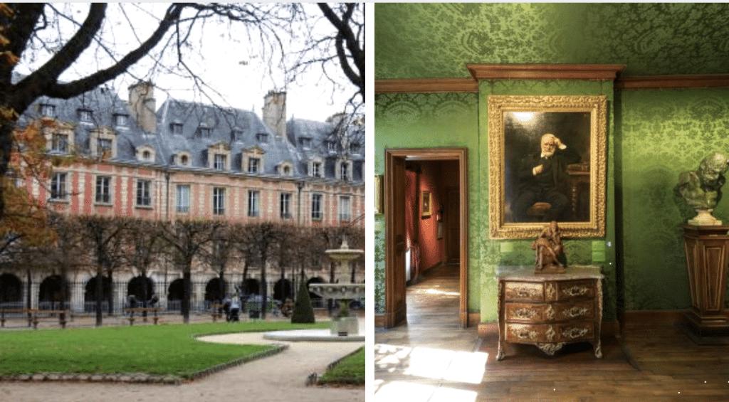 Une visite virtuelle gratuite vous immisce dans la Maison de Victor Hugo place des Vosges !