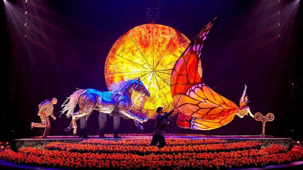 Confinement : le Cirque du Soleil diffuse ses spectacles en ligne gratuitement !