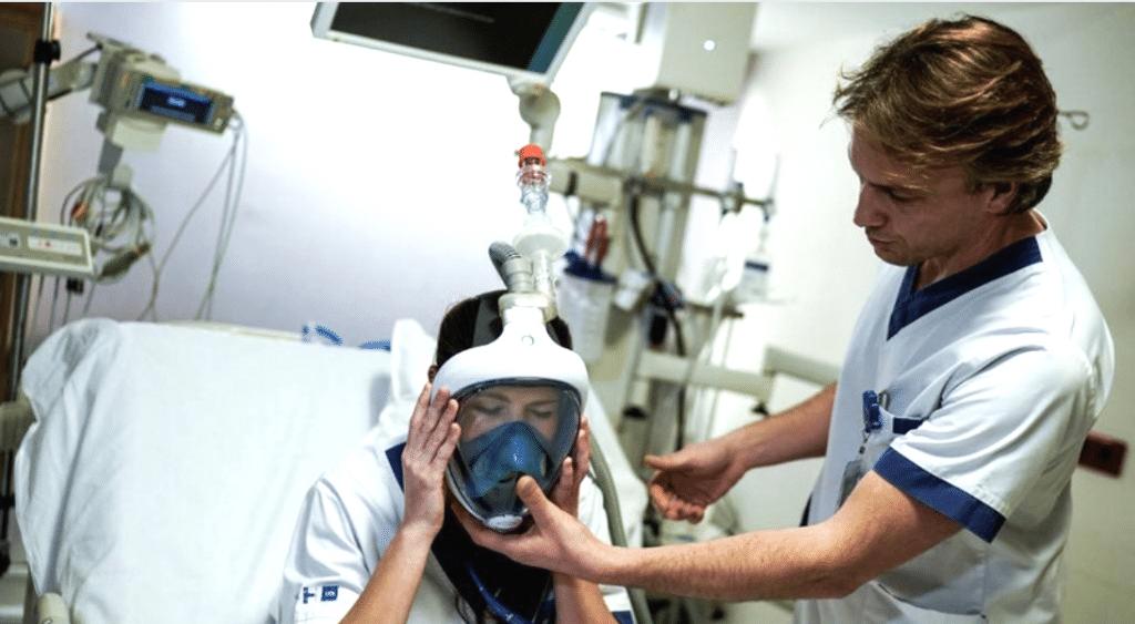 Décathlon retire ses masques de plongée de la vente pour en faire don aux hôpitaux !