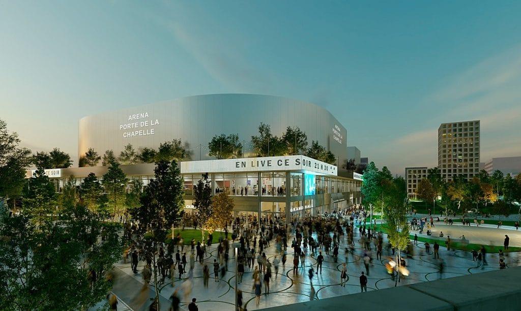 Une nouvelle Arena se dévoile Porte de la Chapelle à Paris !