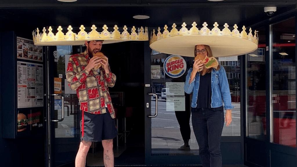 Burger King lance des couronnes Sombreros pour favoriser la distanciation sociale !