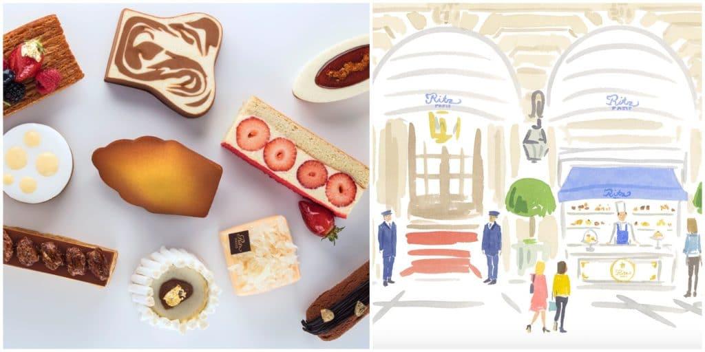 Paris : le Ritz installe un comptoir à pâtisseries sur la place Vendôme !