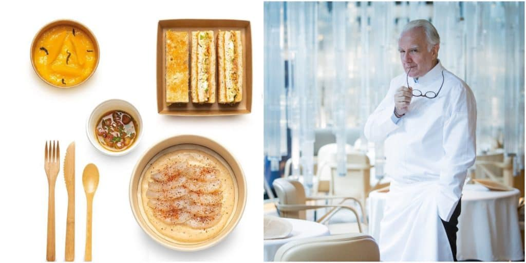 Paris : le Chef étoilé Alain Ducasse lance la «Ducasse Box » une formule déjeuner livrée au bureau !