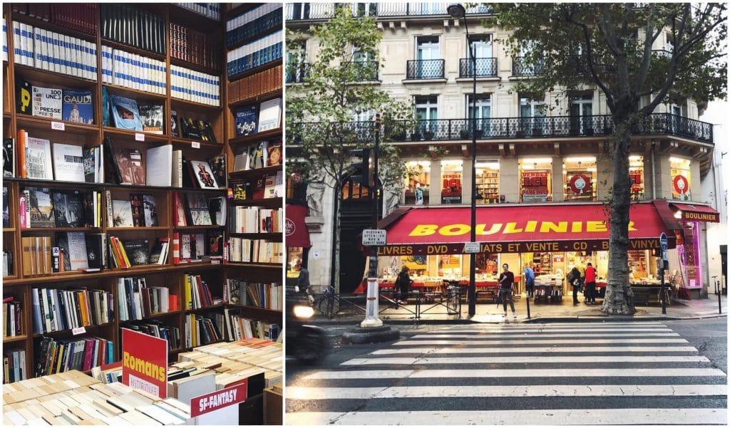 La librairie Boulinier du boulevard Saint-Michel va revivre 30 mètres plus loin !