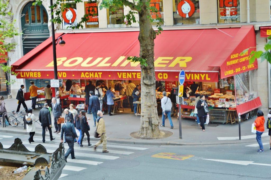 Paris : la librairie Boulinier du boulevard Saint-Michel ferme définitivement ses portes !