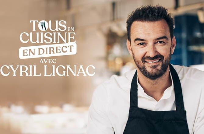 Cyril Lignac sort un livre avec toutes les recettes de son émission «Tous en cuisine» !