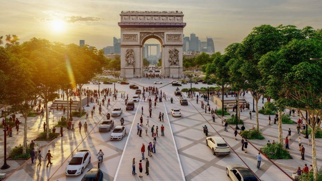 Visitez les Champs-Elysées de demain en ligne !