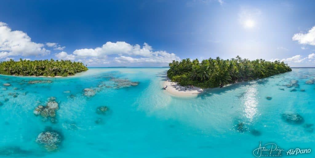 La visite virtuelle paradisiaque de Tetiaora, l'atoll de Marlon Brando en Polynésie française !