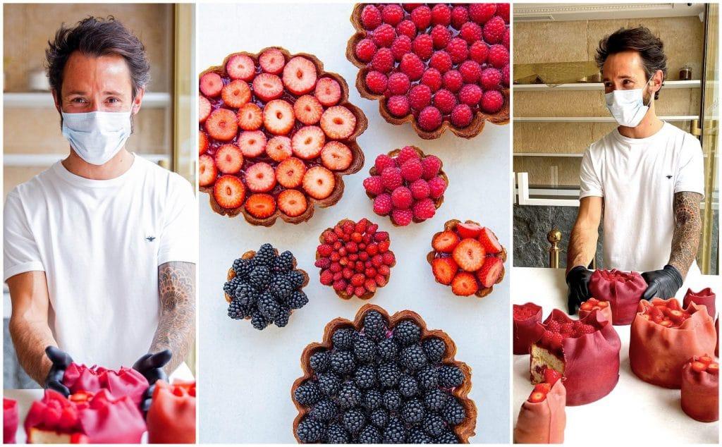 Déconfinement : Cédric Grolet, meilleur Chef pâtissier du monde dévoile sa nouvelle carte ultra fruitée !