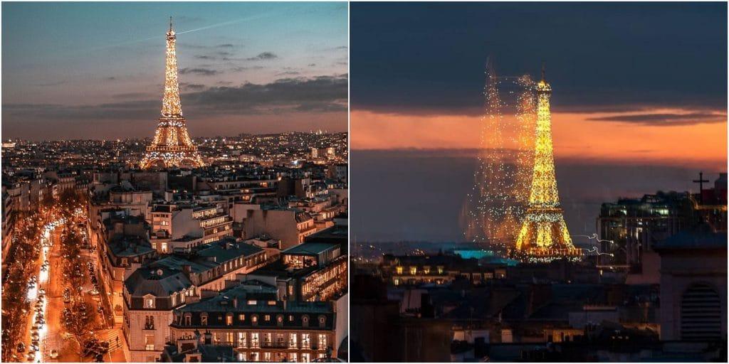 Des portraits de soignants projetés sur la tour Eiffel ce dimanche 10 mai !