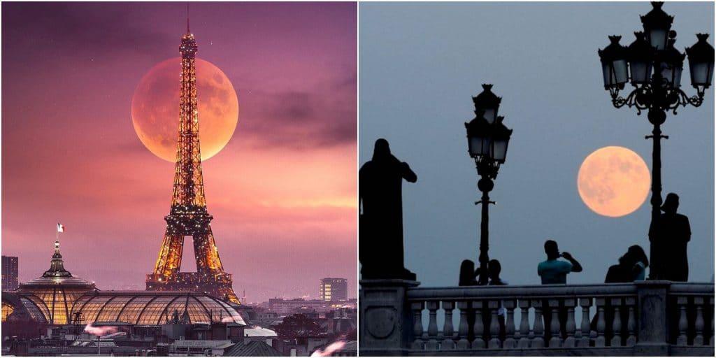 Ce soir, la dernière Super Lune de l'année va illuminer le ciel de Paris !