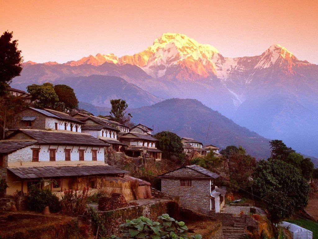 Les sommets de l'Himalaya visibles à 200 km : une première depuis 30 ans !