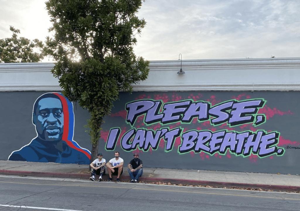 Street art : les artistes urbains rendent hommage à George Floyd dans le monde entier !