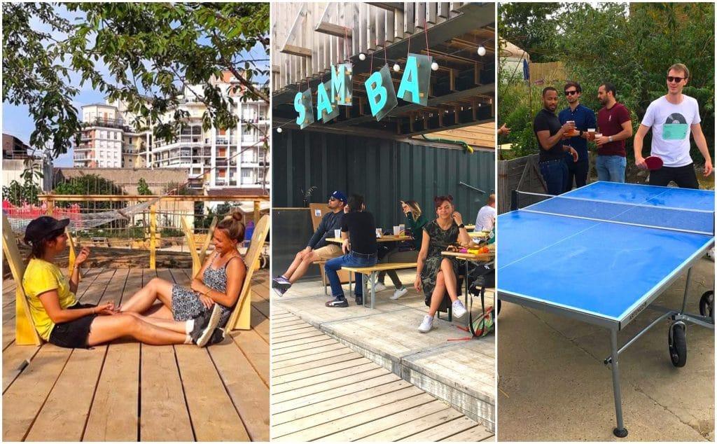 Pétanque, BBQ, ping-pong, hamacs : Découvrez Samba, un nouveau bar éphémère en open-air de 9000m2 !