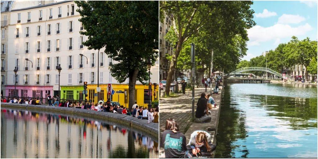 Paris : si elle est réélue, Anne Hidalgo compte piétonniser les berges du Canal Saint-Martin !