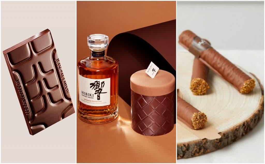 Fête des Pères 2020 : Cigares, entremets au whisky… le top des chocolats en trompe-l'oeil !