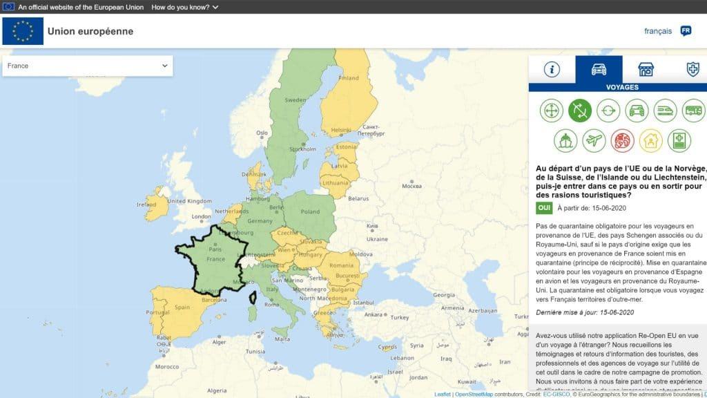 L'Union Européenne met en ligne un site pour savoir où partir en vacances cet été !