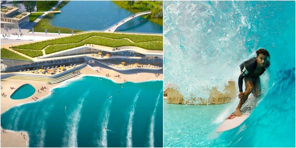 Surf : une gigantesque piscine à vagues urbaine va voir le jour en Ile-de-France !