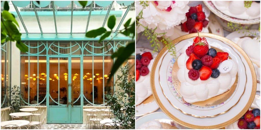 Paris : la terrasse du jardin secret de Bontemps Pâtisserie rouvre ses portes !