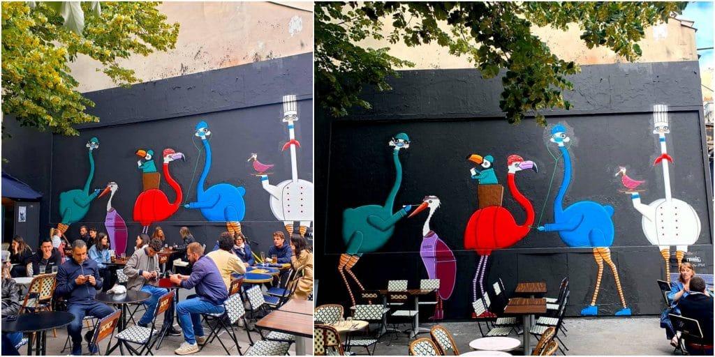 Street art Paris : le MUR Oberkampf reprend enfin des couleurs !