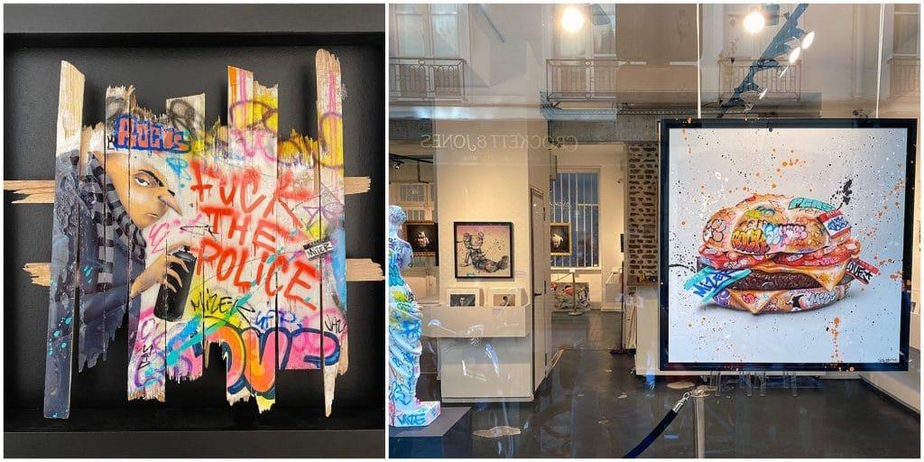 Paris : La Galerie Sakura rouvre ses portes et dévoile une expo d'art urbain inédite !