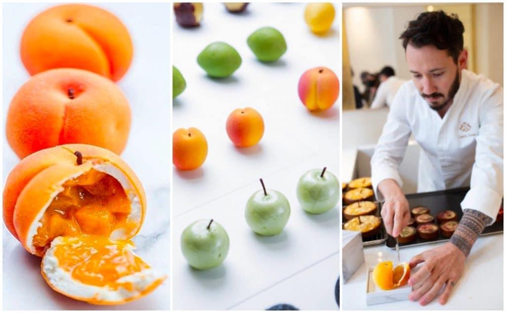 Paris : les fruits en trompe l'oeil de Cédric Grolet désormais à emporter au Meurice !