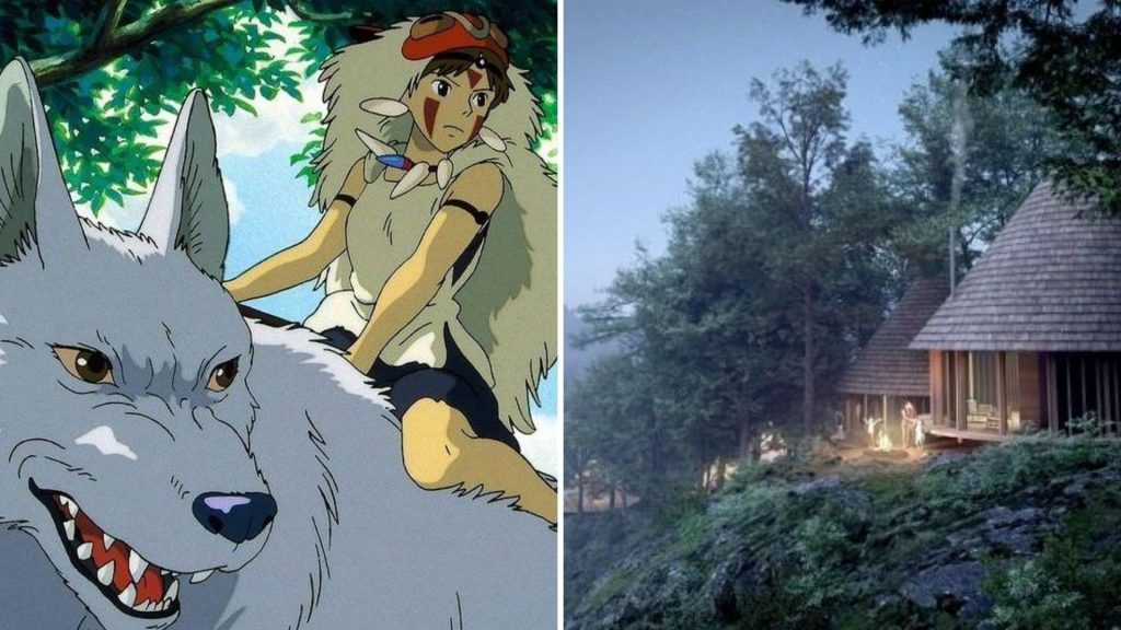 Un camping féerique inspiré de «Princesse Mononoké» va ouvrir ses portes au Japon !