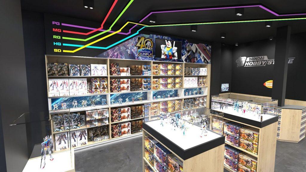 Paris : Une boutique officielle Gundam de Bandai ouvre Boulevard Voltaire !
