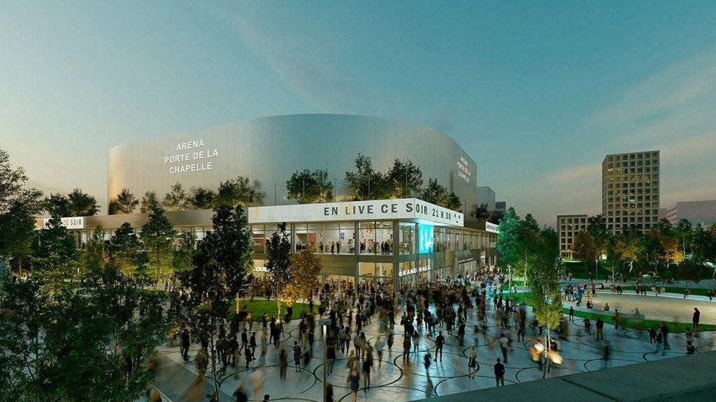 Paris 2024 : On connaît enfin le nom de l'Arena 2 à la Porte de la Chapelle !