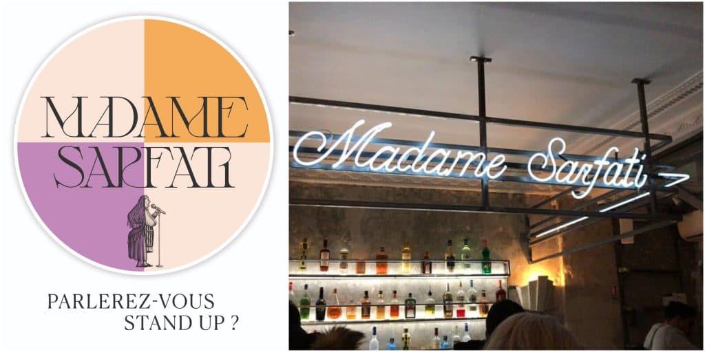 Paris : Madame Sarfarti Comedy Club, bienvenue dans la «maison d'artistes» de l'humoriste Fary !
