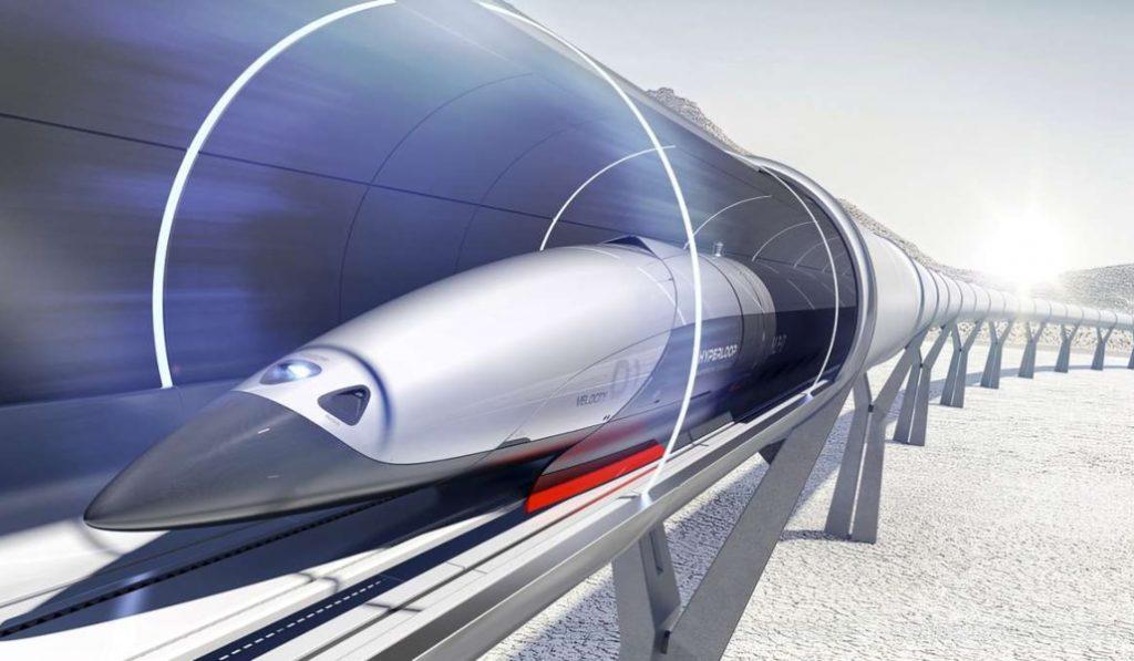 La France pourrait accueillir le premier train-capsule supersonique du monde à 1000km/h !