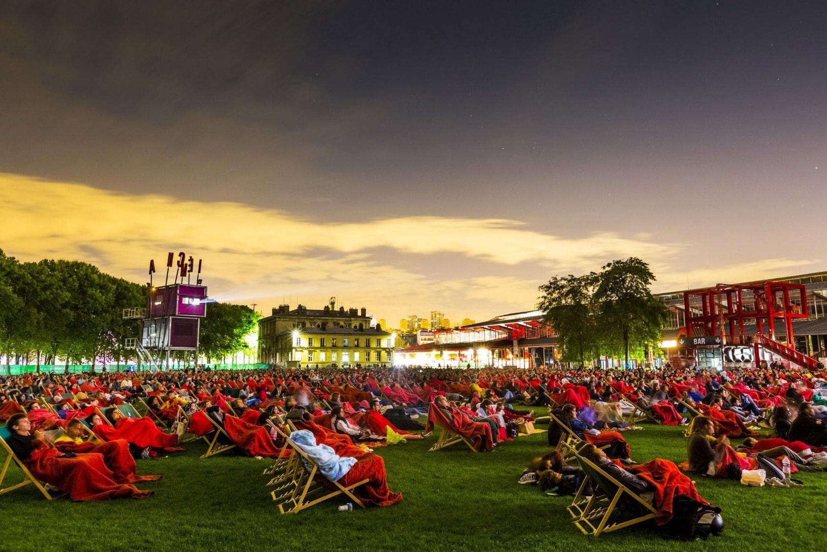 Top cinéma en plein air été 2020 Paris
