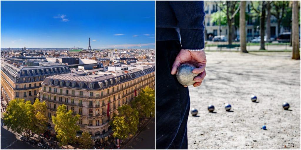 Paris insolite : un tournoi de pétanque GRATUIT en rooftop sur le toit des Galeries Lafayette !