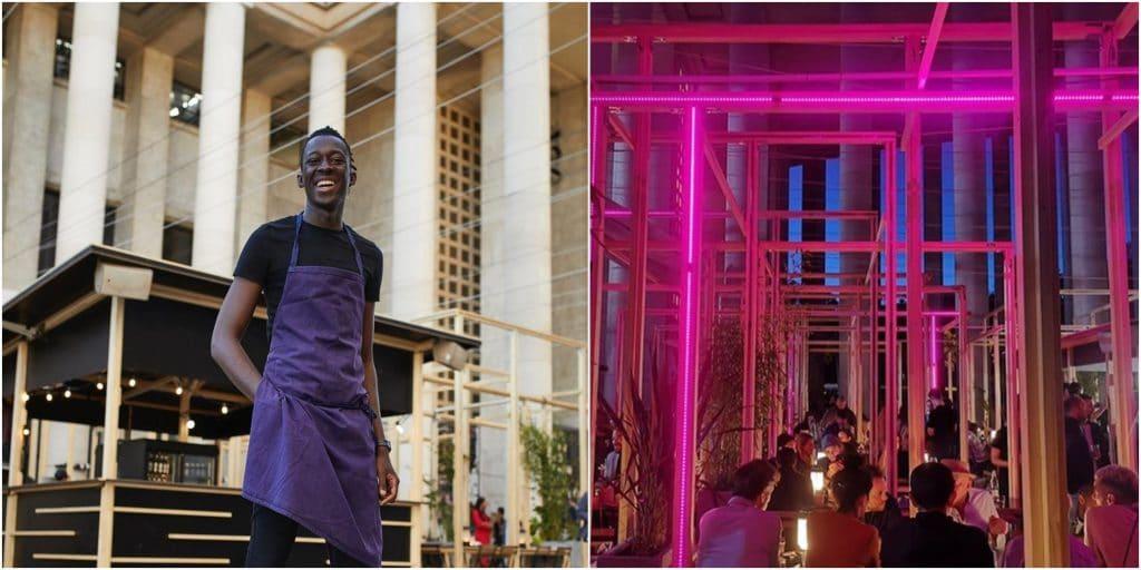 Paris : ouverture du restaurant éphémère «Edo» avec Mory Sacko au Palais de Tokyo !