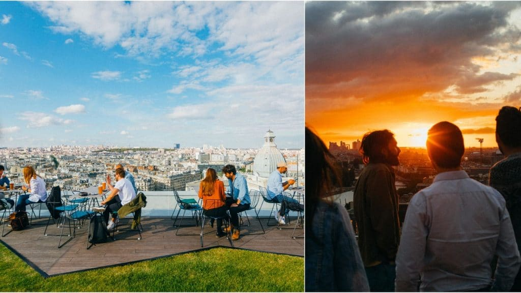 Laho, la nouvelle oasis perchée en rooftop à la vue imprenable sur Paris !