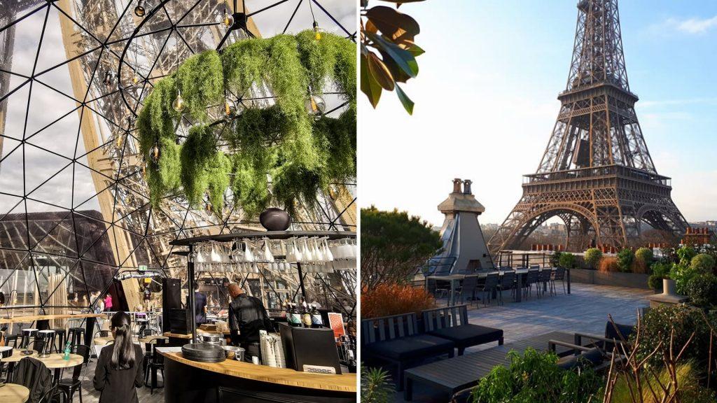 «Summer Chill», la nouvelle terrasse rooftop éphémère de la Tour Eiffel !