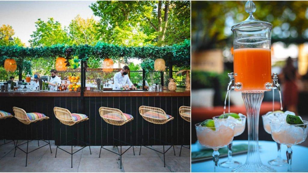 «Azulito» : la nouvelle terrasse d'été éphémère muy caliente de Monsieur Bleu à Paris !