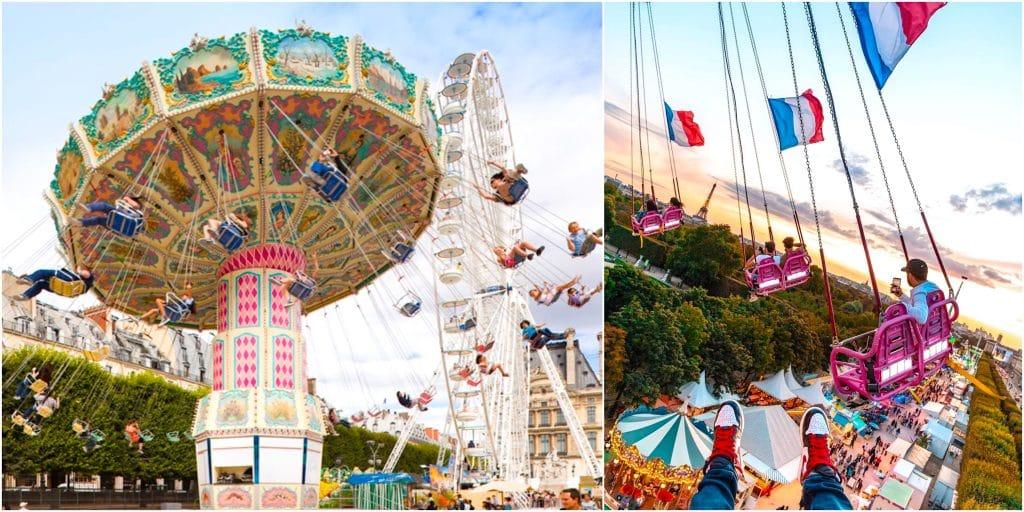 Paris : l'iconique Fête Foraine des Tuileries de retour pour l'été 2021 !