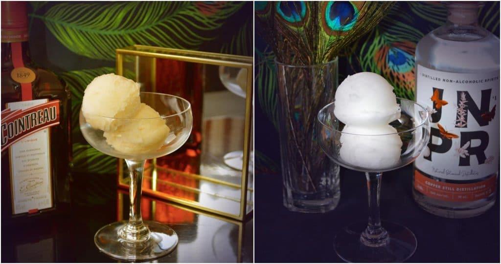 Bar à sorbets alcoolisés cocktails Paris pop up store