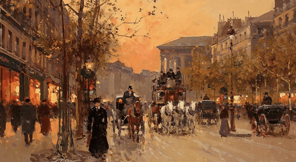 Edouard-Léon Cortès, le peintre néo-Impressionniste amoureux de Paris !