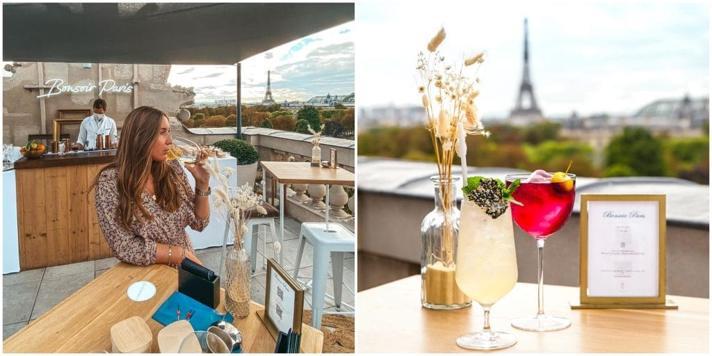 «Bonsoir Paris» le nouveau rooftop éphémère de l'Hôtel Crillon accessible par une Suite secrète !