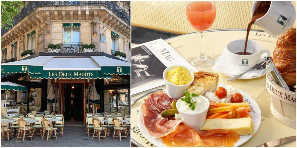 Paris : le mythique café «Les Deux Magots» lance son brunch !