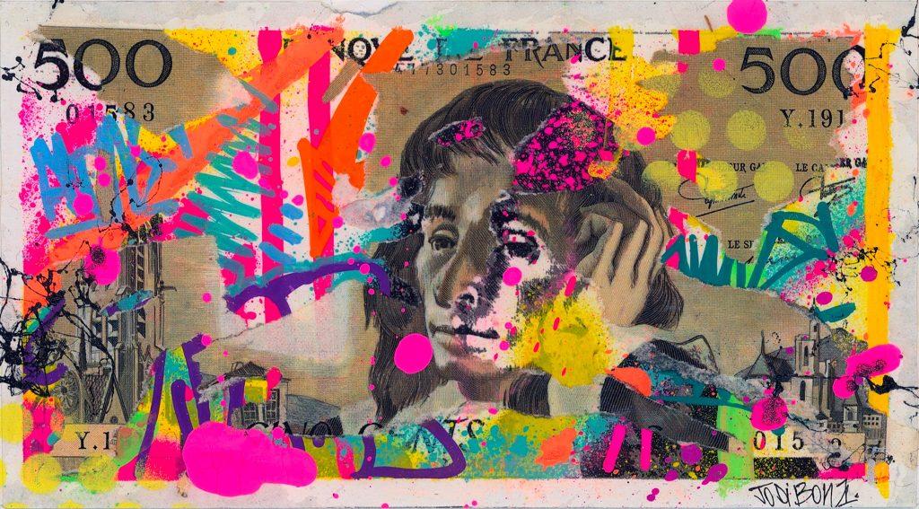 «Street Money» : la nouvelle expo d'art urbain de la Galerie Sakura débarque à Paris !