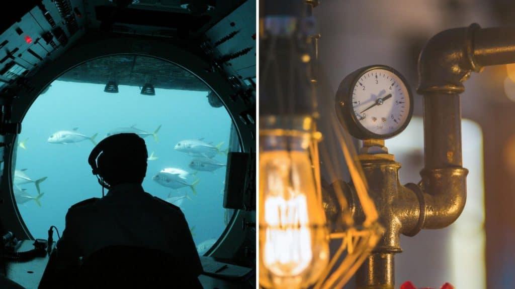 Une expérience immersive dans un sous-marin reconstitué au sein d'un ancien cinéma à Paris !